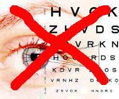 no optometry crossed out